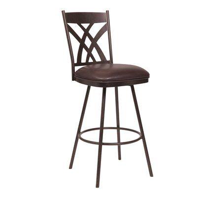 Ebern Designs Derya Bar Counter Stool Seat Height Bar Stool 26