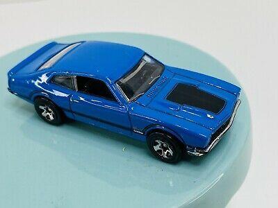 Hot Wheels 71 1971 Ford Maverick Grabber Blue 2010 1 64 Diecast