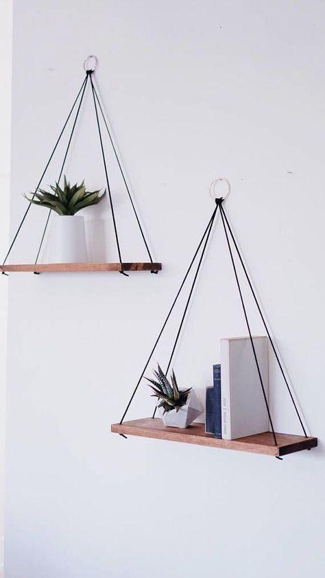 Hanging Shelves / Set of 2 Large Shelves / Floating Shelves / Swing Shelves. Hanging Shelves / Set of 2 Large Shelves / Floating Shelves / Swing Shelves