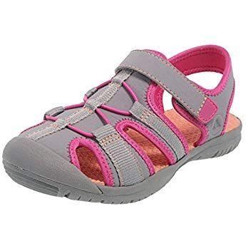 Rugged Sandal Pink Bumptoe Regular Marina Girls' 5 Grey Outback tdrCQsh