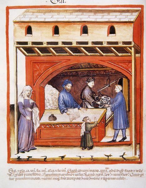 Print Of Tacuinum Sanitatis 14th Century Selling Salt In 2021 Poster Prints 14th Century Medieval Art