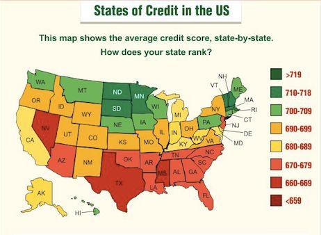 Blue Water Credit On Average Credit Score Credit Score Mortgage