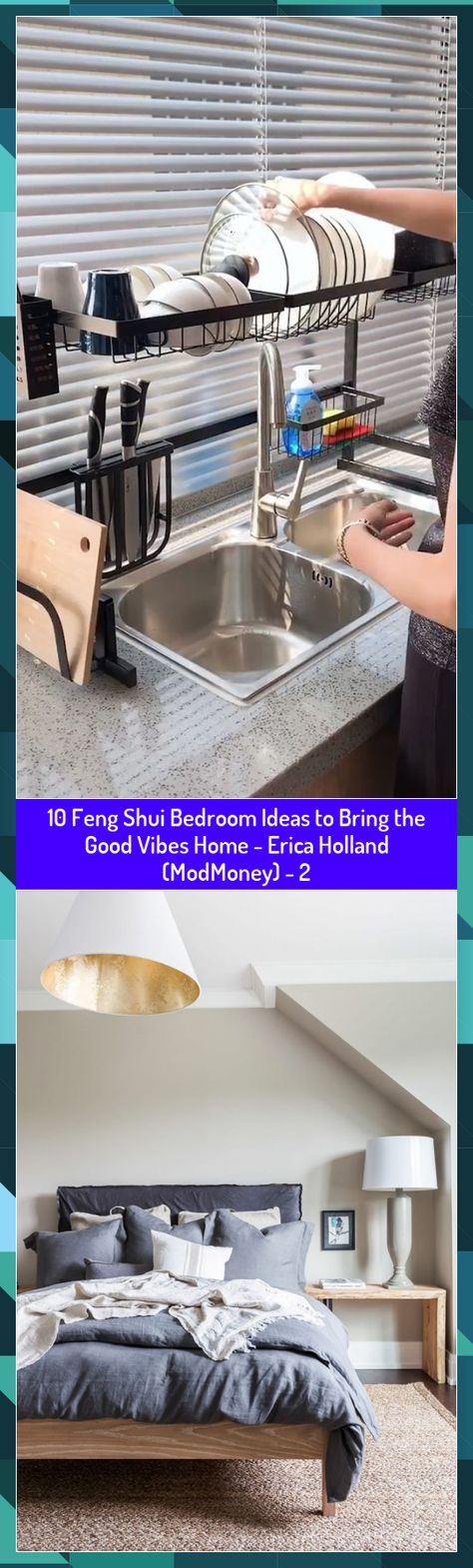 10 Feng Shui Bedroom Ideas to Bring the Good Vibes Home - Erica Holland (ModMoney) - 2 #Bedroom #bring #Erica #Feng #Good #Holland #Home #Ideas #ModMoney #Shui #vibes