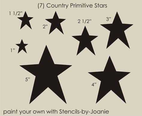 STARS MINI STENCIL MANY SIZES GALAXY CELESTIAL PATTERN TEMPLATE PAINT CRAFT NEW