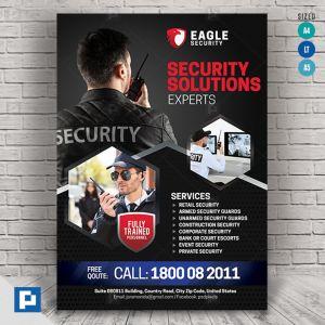 Security Services Flyer - PSDPixel