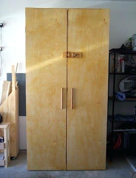 Plans Tall Garage Storage Cabinet Download Rocking Chair Ideas Armoire Rangement Rangement Bois Armoire Rangement Garage