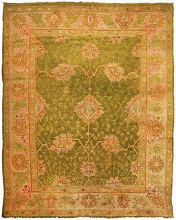 Antique Oushak Carpet Robert