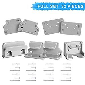 Babepai Hardware Replacement Parts Kit For Retractable Baby Gate