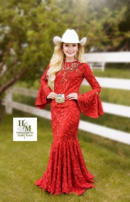 20 Best country western dresses for weddings 30