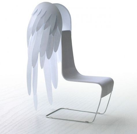 Angel Chair by Vadim Kibardin....wie schön. :-)