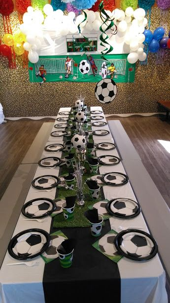Soccer Themed Birthday Party Soccer Birthday Parties Boys Soccer Birthday Party Soccer Theme Parties