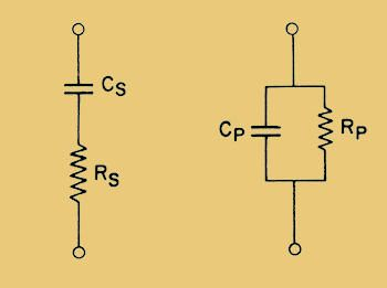 Series And Parallel Models Electrolytic Capacitor Capacitors