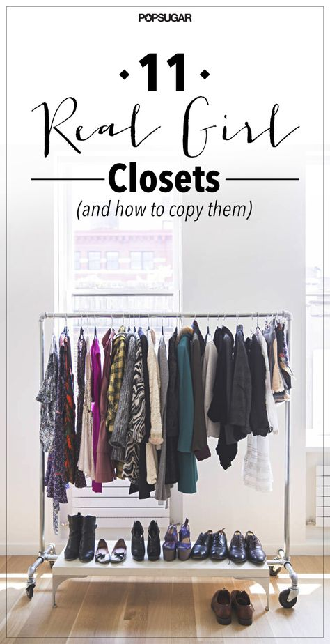 Closet styling tips from real-girl design lovers.