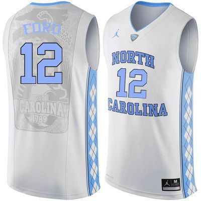 the latest c8acf 75029 Men North Carolina Tar Heels #12 Phil Ford College ...