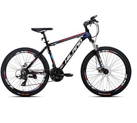Hiland 26 Aluminum Mountain Bike With Disc Brake 24 Speeds