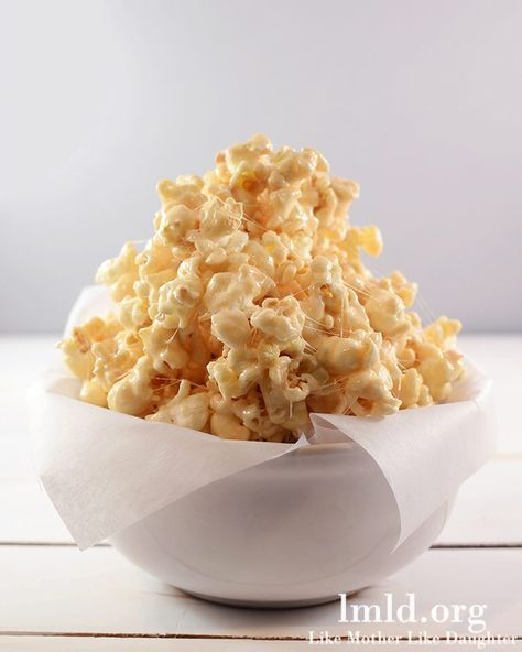 Microwave Caramel Corn Using Sweetened Condensed Milk Caramel Popcorn Marshmallow Caramel Popcorn Snacks
