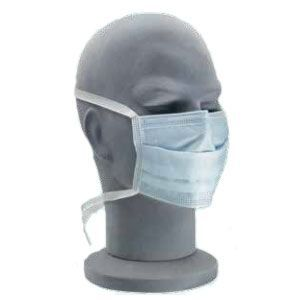 Surgical Face Mask Type Ii With Ties Blue Mask Types Face Mask