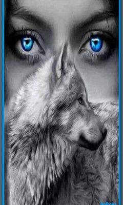 Descargar Ojos Lobo 360hc Para Celular Fondo Jpg Wolf With Blue Eyes Wolf Love Wolf Eyes
