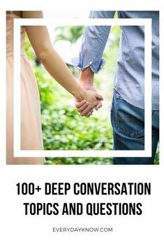 100+ Deep Conversation Topics and Questions | Places to