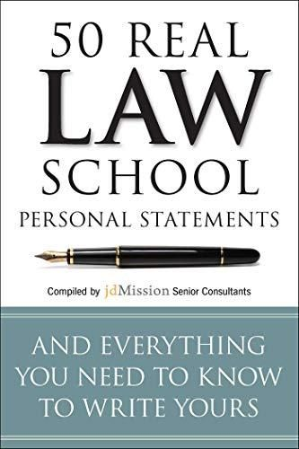 50 Real Law School Personal Statements: And Everything You Need to Know to Write Yours (Manhattan Prep LSAT Strategy Guides) - Default