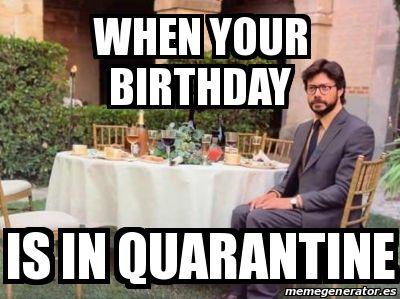 Pin On Birthday Quarantine