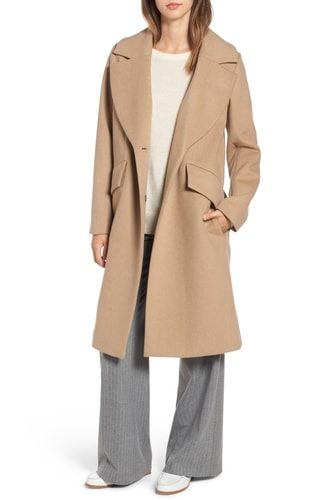 Rachel Roy Womens Wool Coat