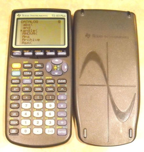 T1 83 Plus TexasInstruments GraphingCalculator Calculator W Batteries WORKS