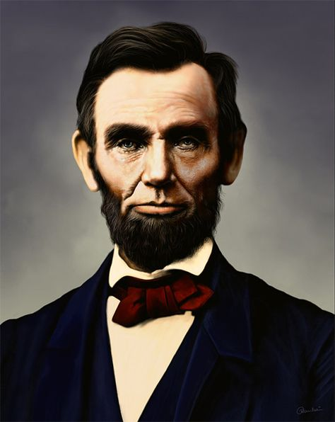 Born February 12 1809 In Hardin County Kentucky Studied While