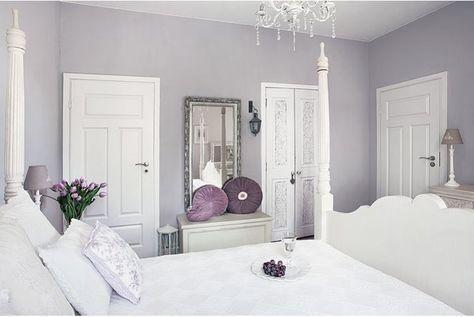 Trendy Bedroom Grey Purple White Lilacs 59 Ideas Light Purple