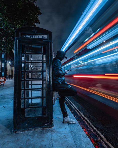 Moody Street Photos Of London After Dark By Luke Holbrook