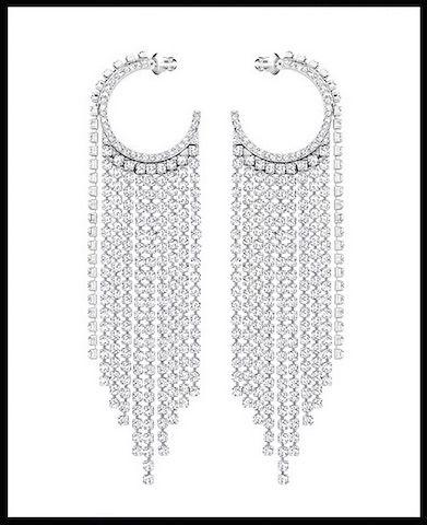 Eternity Gold Diamond-Cut Boucles d/'oreilles créoles en 14K or Blanc