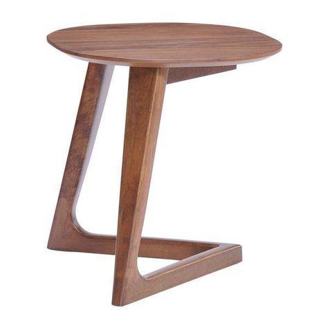 Central Park Side Table Emfurn Walnut Side Tables Side Table