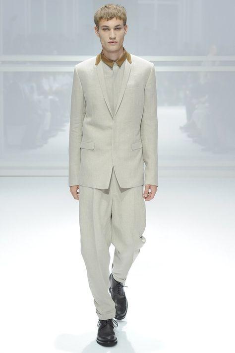 Dior Homme Spring 2012 Menswear Fashion Show