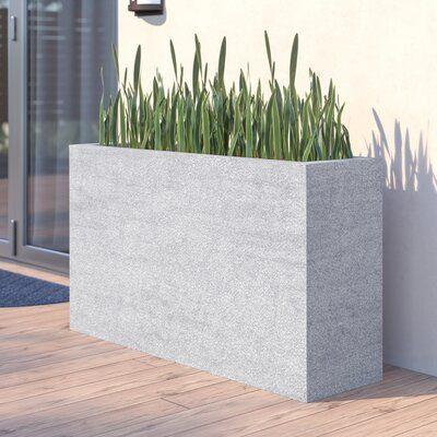 Latitude Run Willoughby Stone Planter Box Wayfair Box Latitude