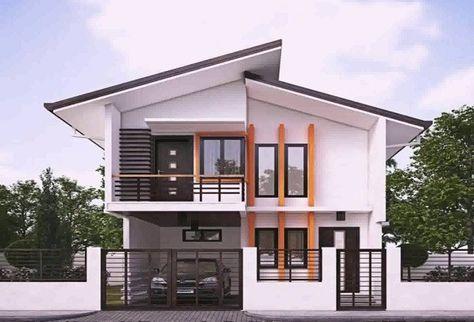25+ inpsirasi terbaru desain rumah minimalis tampak depan