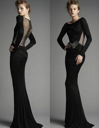 2018 Uzun Abiye Elbise Modelleri Zarif Sik Ve Etkileyici Aksamustu Giysileri Elbise Elbise Modelleri