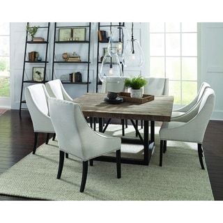 Mia Reclaimed Wood 60 Inch Square Dining Table By Kosas Home