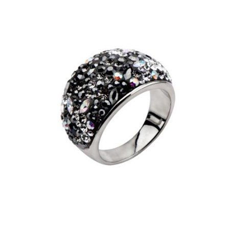Stainless Steel Beaded Engravable Grooved and Bead Charmed 4mm Polished Band Ring Size 11