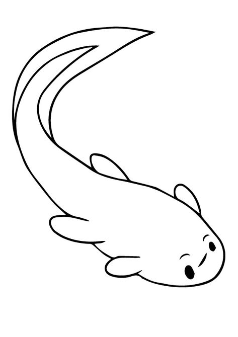 Tadpole Coloring Pages Coloring Pages To Print