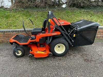 Ad Kubota Gzd21 Zero Turn Diesel Ride On Lawn Mower With High Tip Collector In 2020 Lawn Mower Riding Lawn Mowers Mower