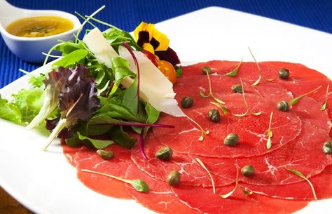 Image result for Carpaccio de Carne