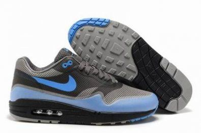 Nike Air Max 87 Hypefuse gris / azul http://www.esnikerun.com/ | Stuff to  buy | Pinterest | Air max and Nike basketball