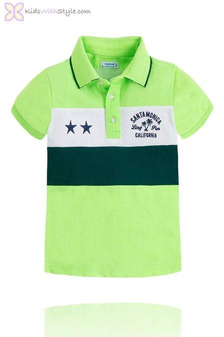 Comfy Light Green Polo Shirt