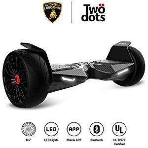 LAMBORGHINI TwoDots Hoverboard 8.5 inches Hover Board All