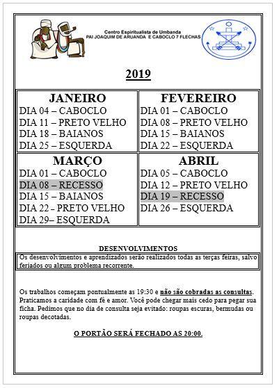 Calendario Preto Velho Cabocla Moldes De Roupas