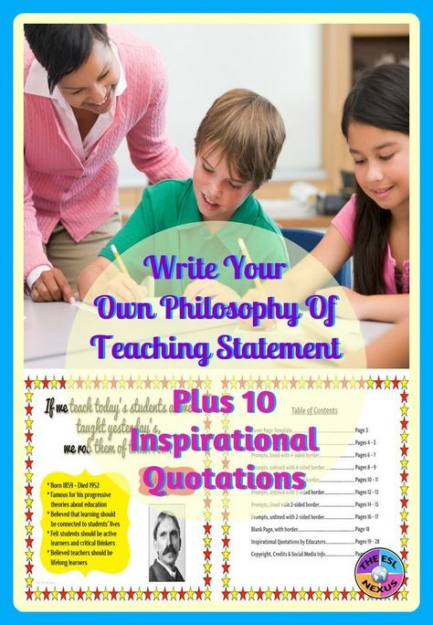 Use These 20 Prompts To Create A Personal Statement Explaining Your Beliefs Values About Education When Fini Teaching Statement Teaching Philosophy Teaching