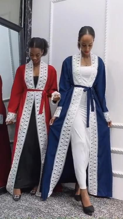 vêtements pour femmes, Kenya, afrique du sud, Ankara, Abaya ouverte, tendance, couleur Patchwork