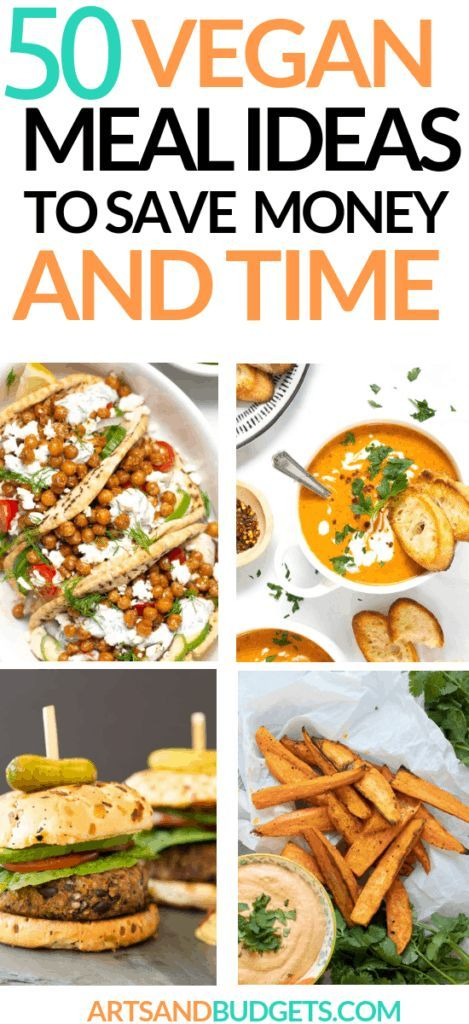 50 Best Vegan Meal Ideas To Try On A Budget Frugal Living