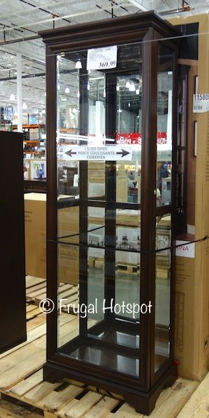 Costco Pulaski Sliding Door Display Cabinet 369 99 Sliding