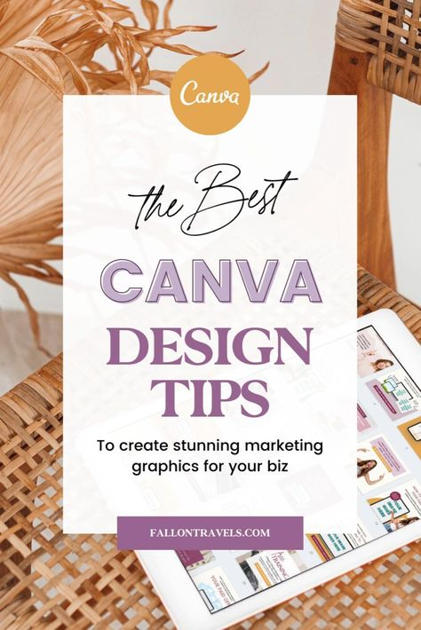 Best Canva Tips, Tricks and Design Hacks for Online Business Coaches & Bloggers— Fallon Travels